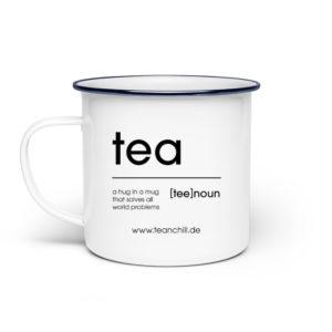 tea [tee] noun – hug in a mug – Tasse 300ml