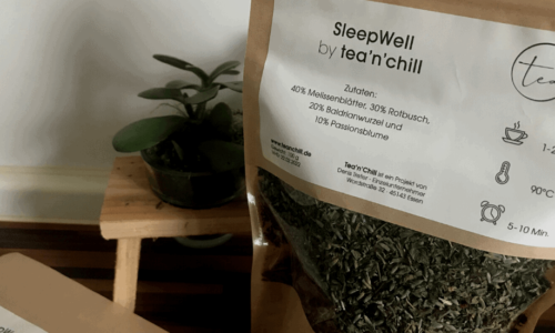 Neues Produkt: SleepWell by tea'n'chill