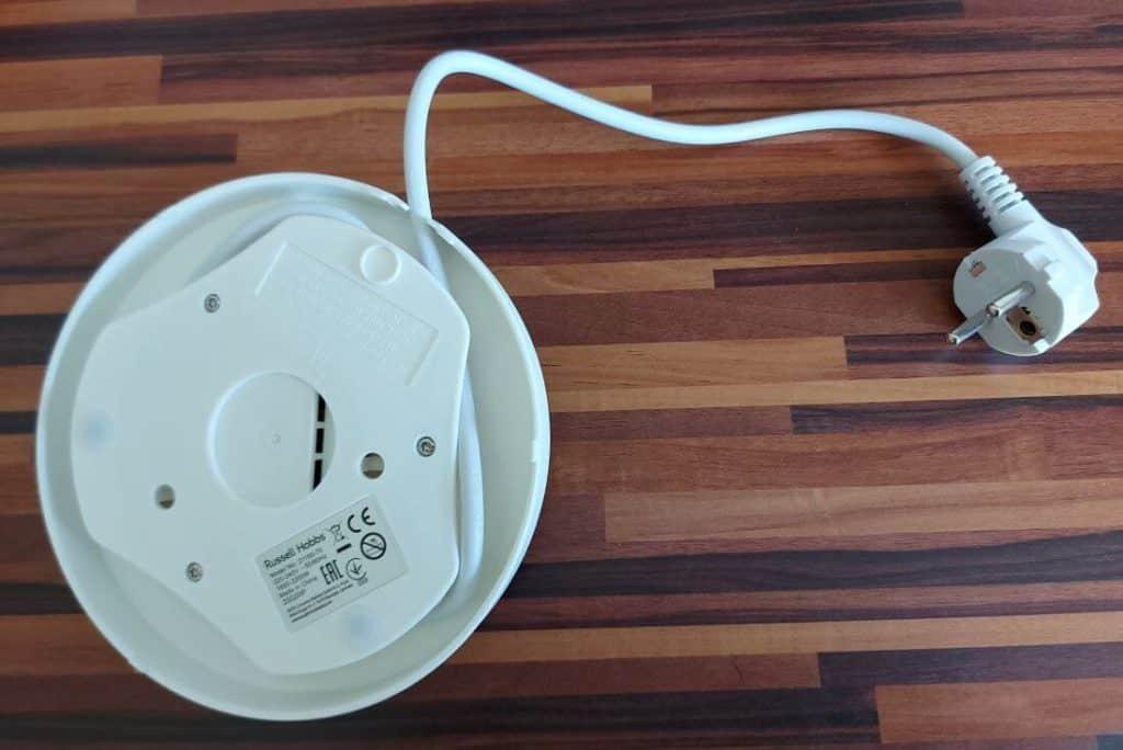 Kabelsockel von unten