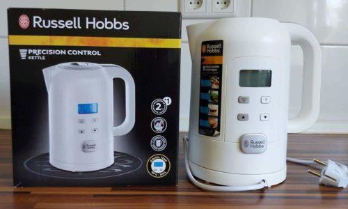 Russel Hobbs Wasserkocher Precison 21150-70 Produkttest & Erfahrungsbericht