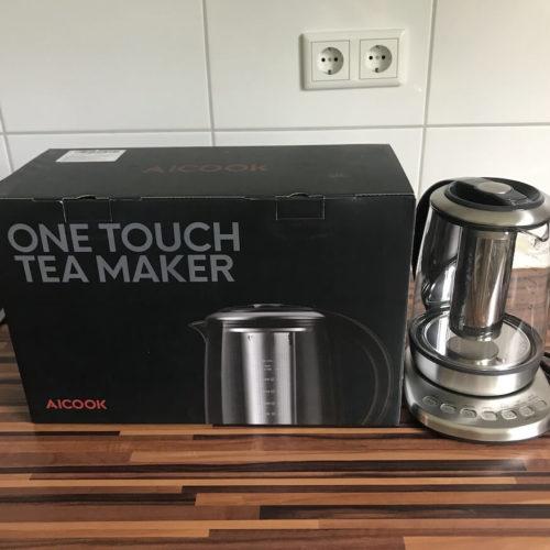 Aicook One Touch Teekocher Produkttest & Erfahrungsbericht