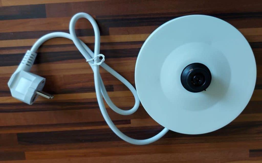Kabelsockel von oben